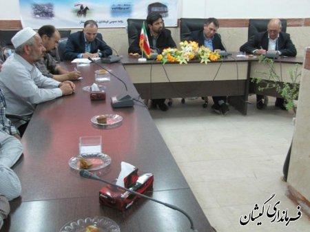 اولين جلسه هم انديشي تعاونيهاي صيادي شهرستان گميشان تشكيل شد