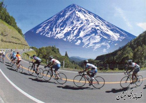 برگزاری مسابقات دوچرخه سواری دهیاری حاجی گلدی خان