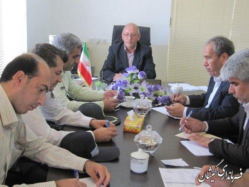 جلسه شورای ترافیک شهرستان برگزار شد