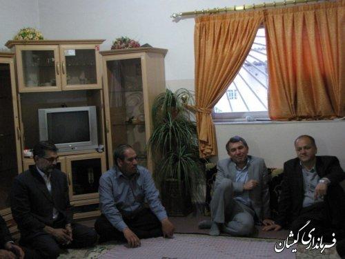 اولین افطار فرماندار گمیشان مهمان موسسه خیریه حضرت زینب کبری(س) سیمین شهر