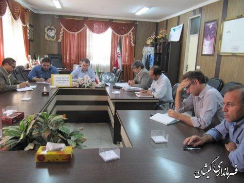 جلسه کمیته مدیریت منابع آب و بیمه محصولات کشاورزی برگزار شد