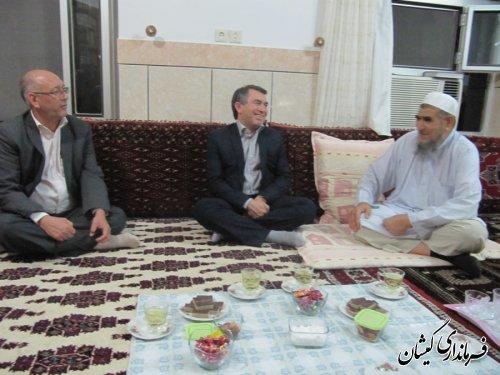 دیدارفرماندار با امام جمعه سیمین شهر