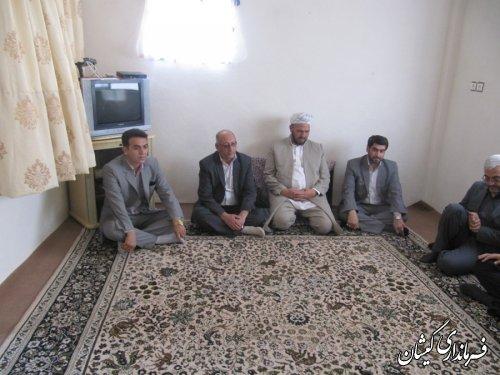 دیدار معاونین مدیرکل کمیته امداد حضرت امام (ره) استان از مددجویان شهرستان گمیشان