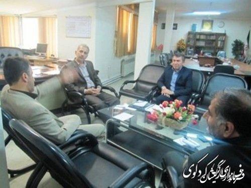 نشست مشترک فرمانداران با نماینده مردم شریف غرب استان در مجلس