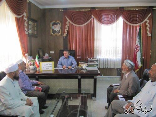 ملاقات عمومی مردم با فرماندار