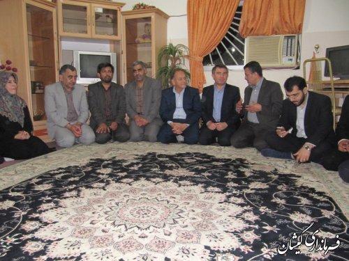 فرماندار میهمان ضیافت افطاری موسسه خیریه حضرت زینب کبری(س)سیمین شهر