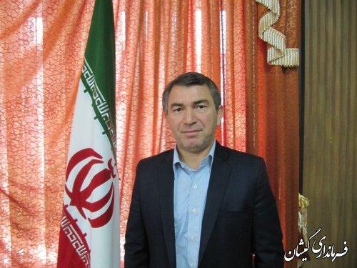 پیام تبریک فرماندار شهرستان گمیشان به مناسبت عید سعید فطر
