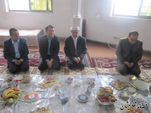 دیدار فرماندار گمیشان با ائمه جمعه شهرستان دراولین روز عید فطر