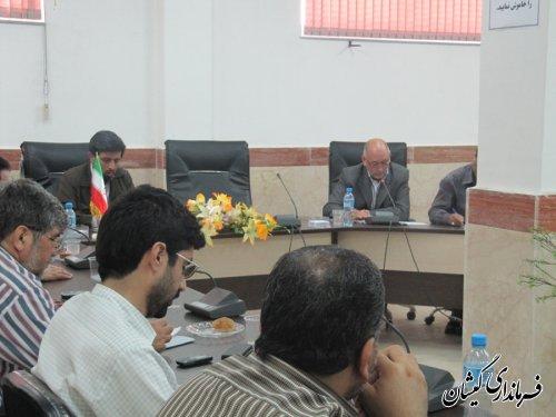 اولین جلسه ستاد هماهنگی بزرگداشت هفته دولت شهرستان گمیشان تشکیل شد
