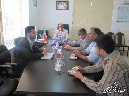 بازدید پروژه های قابل افتتاح هفته دولت شهرستان گمیشان