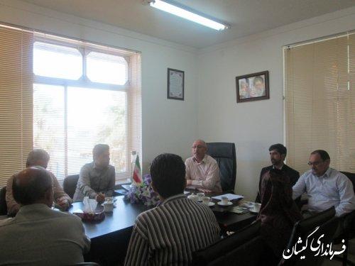 جلسه کمیته تبلیغات واطلاع رسانی هفته دولت شهرستان تشکیل شد