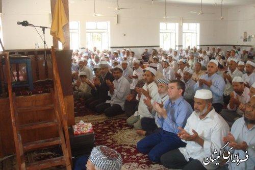 سخنرانی فرماندار گمیشان درنماز جمعه سیمین شهر