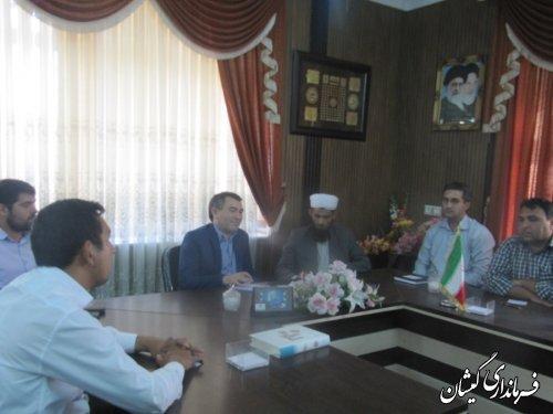 برگزاری انتخابات هیات رئیسه شورای اسلامی شهر گمیش تپه
