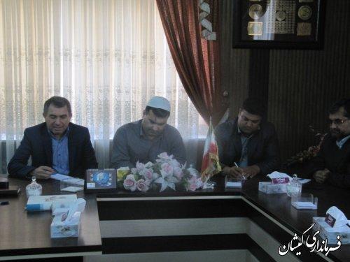 برگزاری انتخابات هیات رئیسه شورای اسلامی شهر سیمین شهر