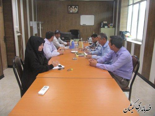 انتخابات هیات رئیسه شورای اسلامی شهرستان گمیشان برگزار شد