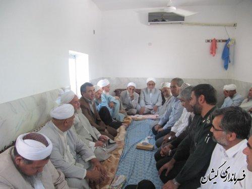 جشن فارغ التحصیلی 11نفرازطلاب حوزه علمیه روستای قلعه کریم ایشان گمیشان