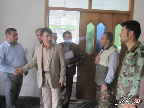 جلسه مدیریت بحران وحفاظت ازمنابع ملی تشکیل شد