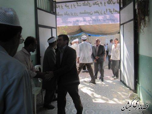 جشن فارغ التحصیلی طلاب حوزه علمیه نعمانی شهرستان گمیشان برگزار شد