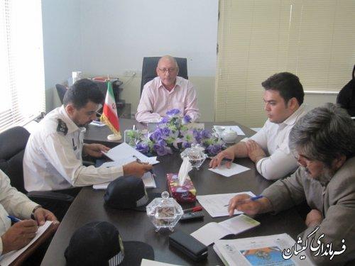 جلسه هم اندیشی طرح ترافیکی شهرستان تشکیل شد