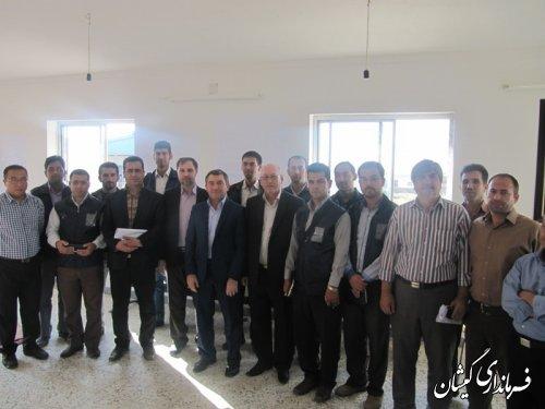 مراسم افتتاحیه ستاد اجرایی سرشماری عمومی کشاورزی درگمیشان
