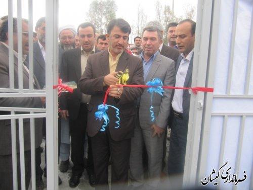 افتتاح دفتر خدمات برق واتفاقات شبکه سیمین شهر