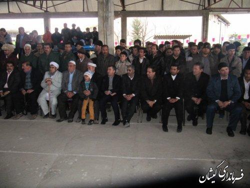 فرماندار گمیشان:پیام کشتی سنتی ترکمن (گورش)صلح ودوستی وترویج فرهنگ پهلوانی است
