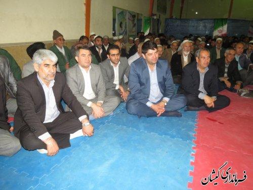برگزاری شب شعر وموسیقی در سیمین شهر با حضور فرماندار گمیشان