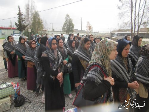 اعزام کاروان راهیان نور شهرستان گمیشان  به مناطق عملیاتی هشت سال دفاع مقدس