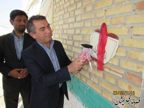 زنگ ایثار ومقاومت وبازگشایی مدارس شهرستان نواخته شد