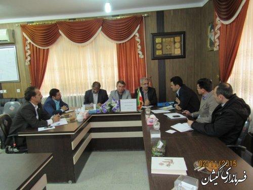 سومین جلسه هماهنگی انتخابات شهرستان های غرب استان برگزار شد