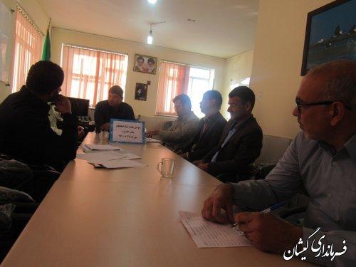 سومین جلسه ستاد انتخابات بخش گلدشت برگزار شد