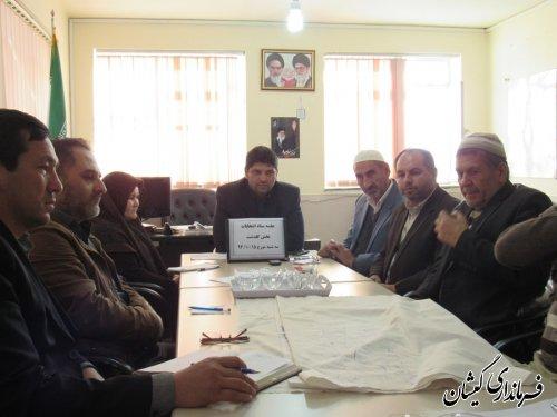 دوازدهمین جلسه ستاد انتخابات بخش گلدشت برگزار شد