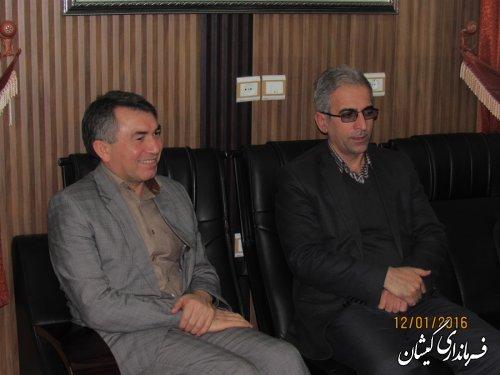 نشست مشترک انتخاباتی فرمانداران گمیشان و کردکوی برگزار شد