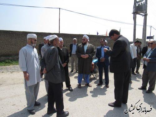کلنگ اجرای طرح هادی روستای قلعه کریم ایشان به زمین زده شد