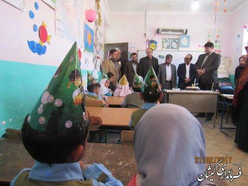 کاشت نهال مثمر در روستاهای شهرستان گمیشان بعنوان پایلوت در استان گلستان
