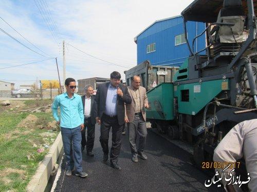 اولین اقدام عمرانی دولت تدبیر و امید در سال 96 در شهرستان گمیشان