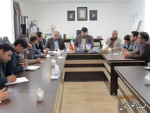 سومین جلسه کمیته اطلاع رسانی ستاد انتخابات با محوریت هماهنگی برنامه تلویزیونی کارناوال همه با هم