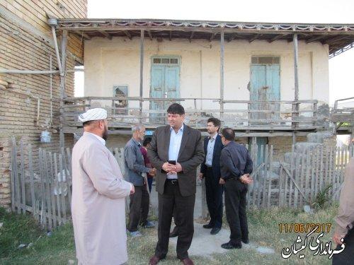 دیدار با سه خانواده مدد جوی تحت پوشش کمیته امداد امام(ره) شهرستان
