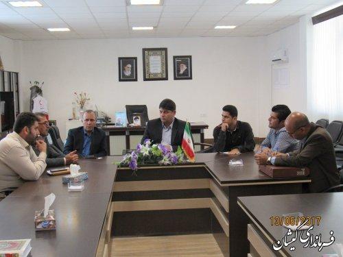 جلسه بررسی وضعیت آب ناحیه صنعتی سیمین شهر برگزار شد