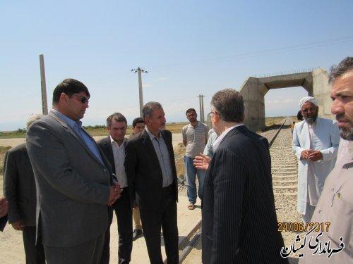 فرماندار گمیشان برتسریع ساماندهی گذرگاه همسطح محدوده شهرستان را تاکید کرد
