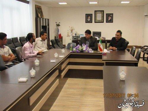 فرماندار گمیشان درخواست 25 نفر از مراجعه کنندگان را بررسی و رسیدگی کرد