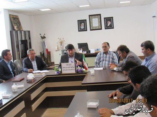 اعضای هیات رئیسه شورای شهرهای گمیش تپه و سیمین شهر انتخاب شدند