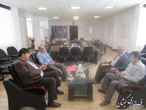 جلسه رسیدگی به وضعیت آب شرب منطقه برگزار شد