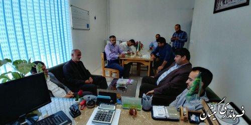 نشست مشترک بررسی وضعیت آب شرب شهری ویژه عید سعید قربان