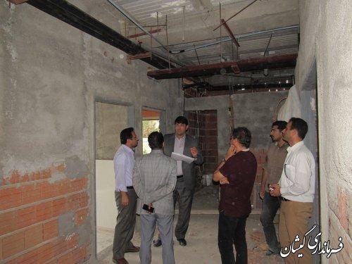 پروژه مرکز جامع سلامت گمیشان از اقدامات شاخص دولت در حوزه بهداشت می باشد