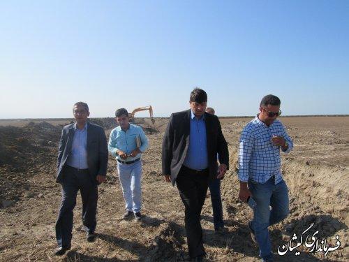 تاکنون 25 کیلومتر در اراضی شمال گمیشان زهکش احداث و لایروبی شده است