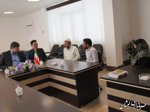 ملاقات عمومی فرماندار گمیشان با مردم برگزار شد