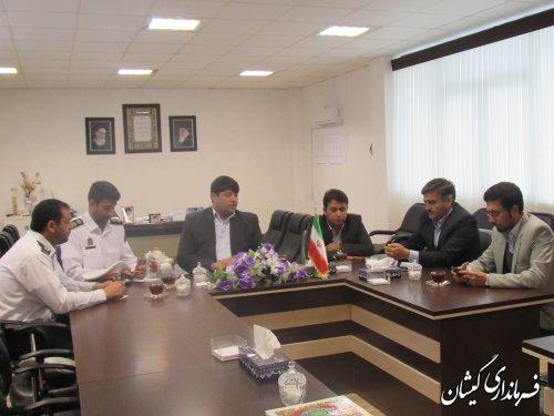 جلسه شورای ترافیک شهرستان گمیشان برگزار شد
