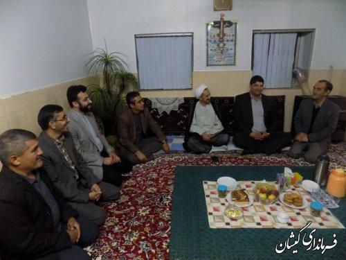 دیدار فرماندار گمیشان و مدیر کل فرهنگ و ارشاد اسلامی استان با هنرمندان شهرستان