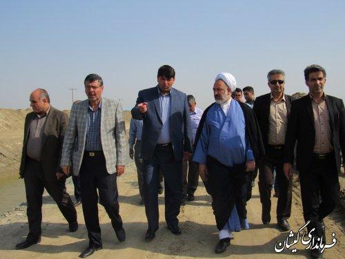 تاکنون پروژه زهکشی اراضی بیش از 70 درصد در شمال گمیشان اجرا شده است